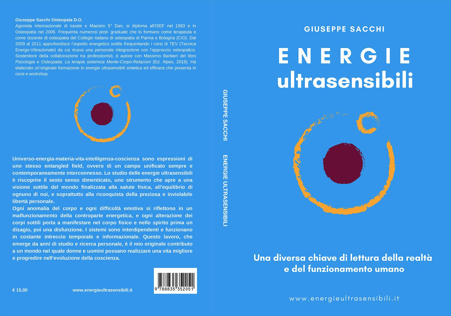 Energie Ultrasensibili - Libri Osteopata, Fisioterapia e Terapia del Benessere